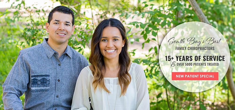 Chiropractor Redondo Beach CA Ivan and Sabrina Sanchez