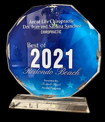 Chiropractic Redondo Beach CA Best of 2021 Award